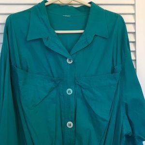 Pants - Turquoise Jumpsuit